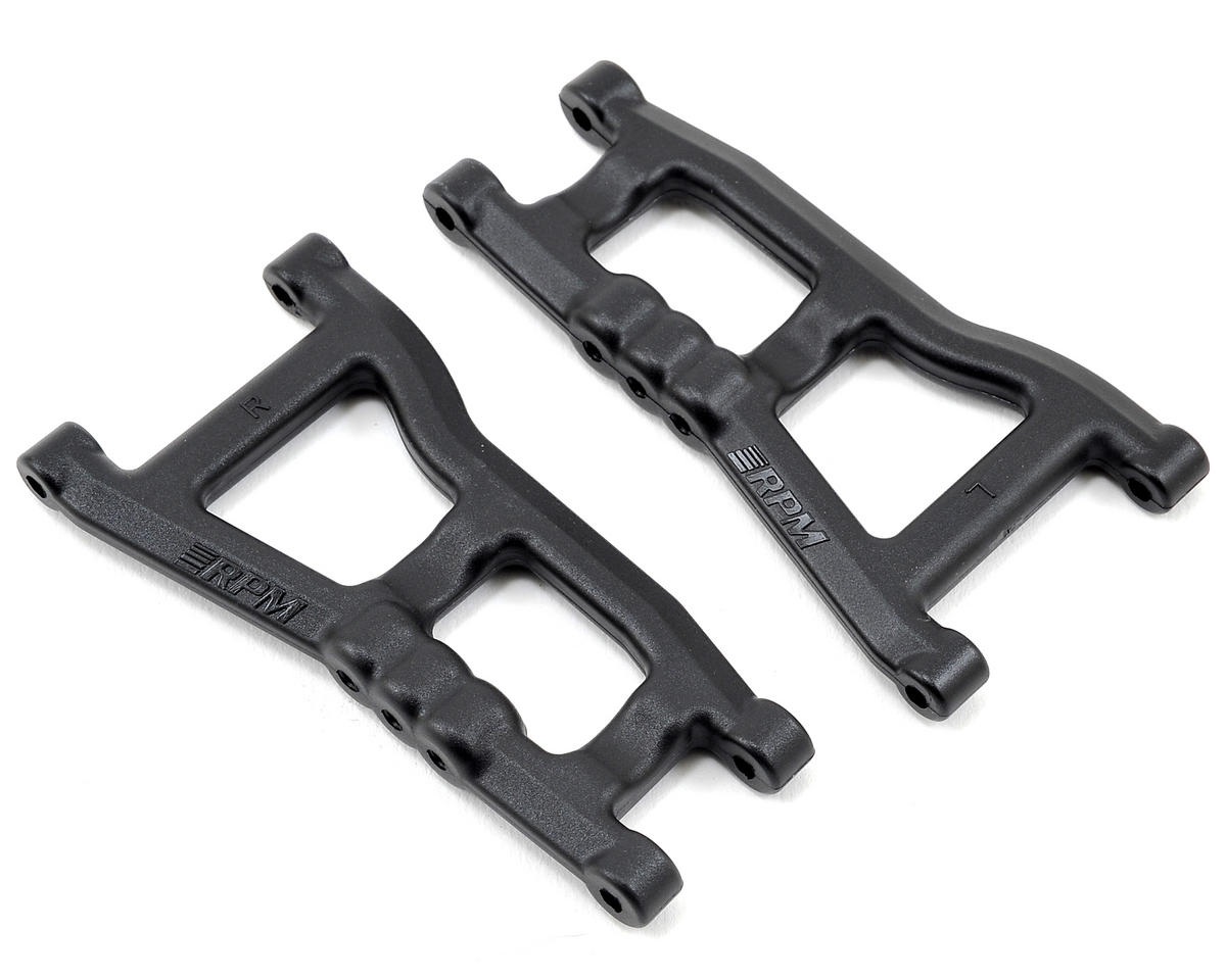 Rear A-Arms (Nitro Slash) (Black) (2) by RPM