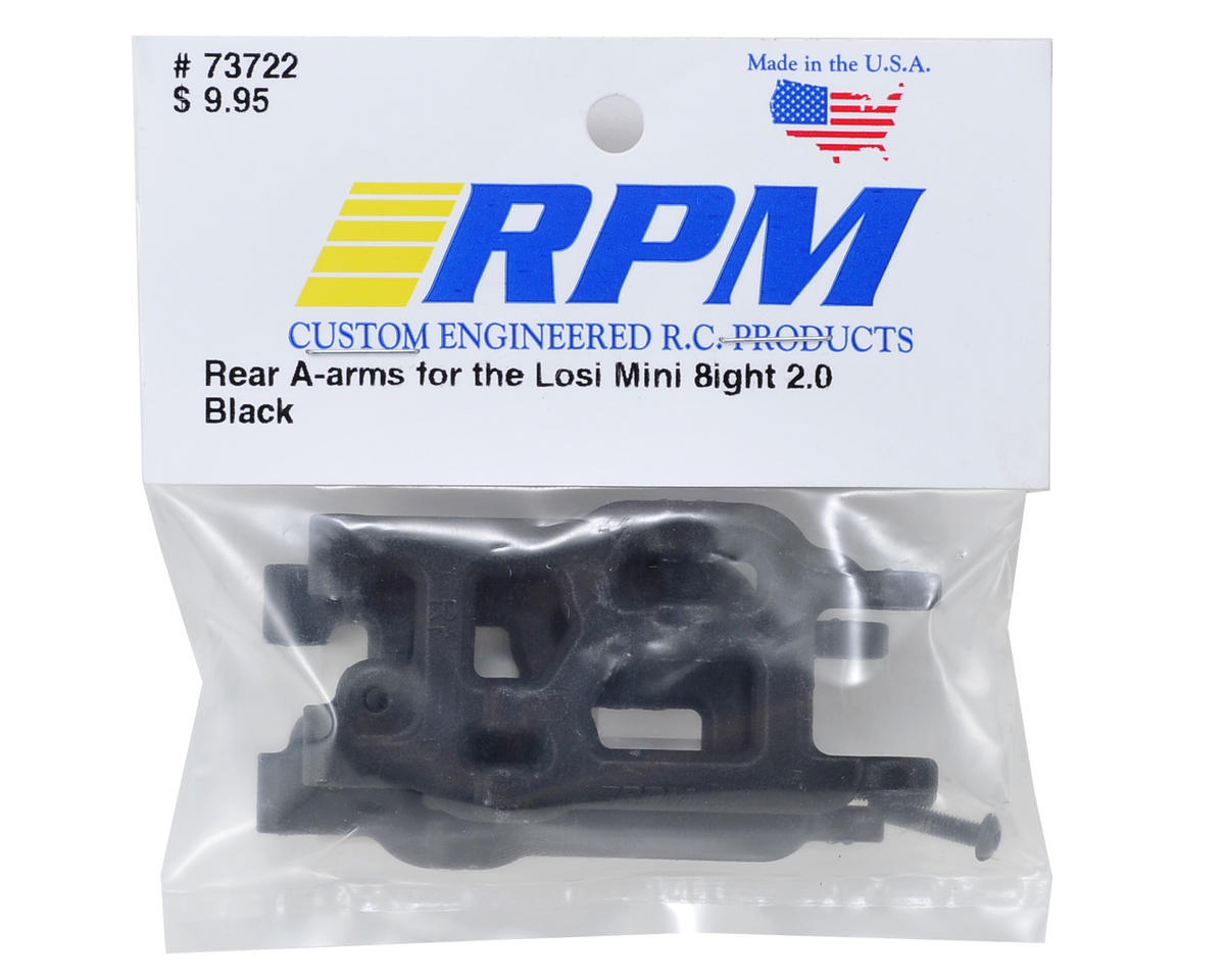 RPM Rear A-Arm (Black) (Mini 8IGHT)