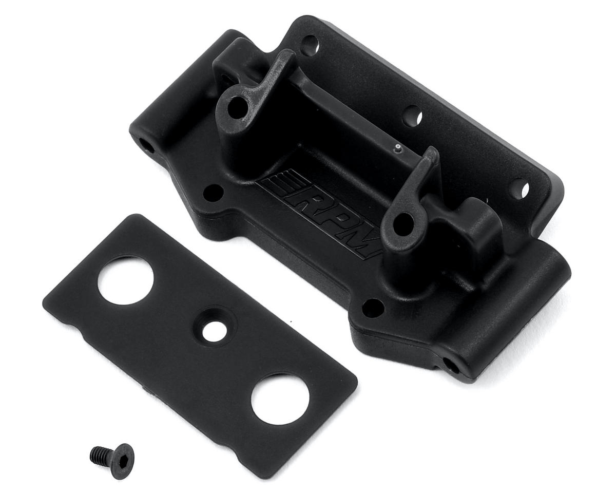 Traxxas 2WD Front Bulkhead (Black) by RPM