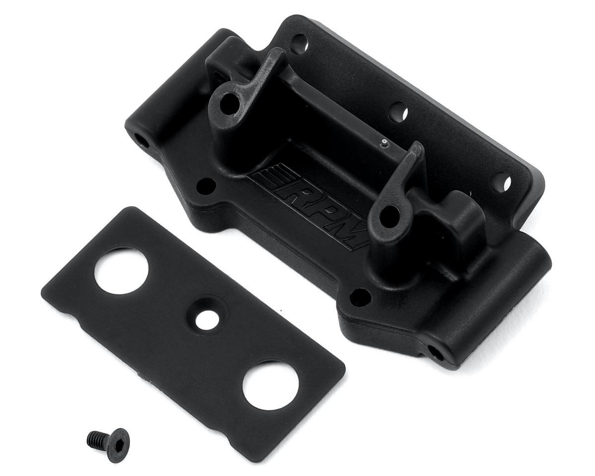 RPM Traxxas 2WD Front Bulkhead (Black)