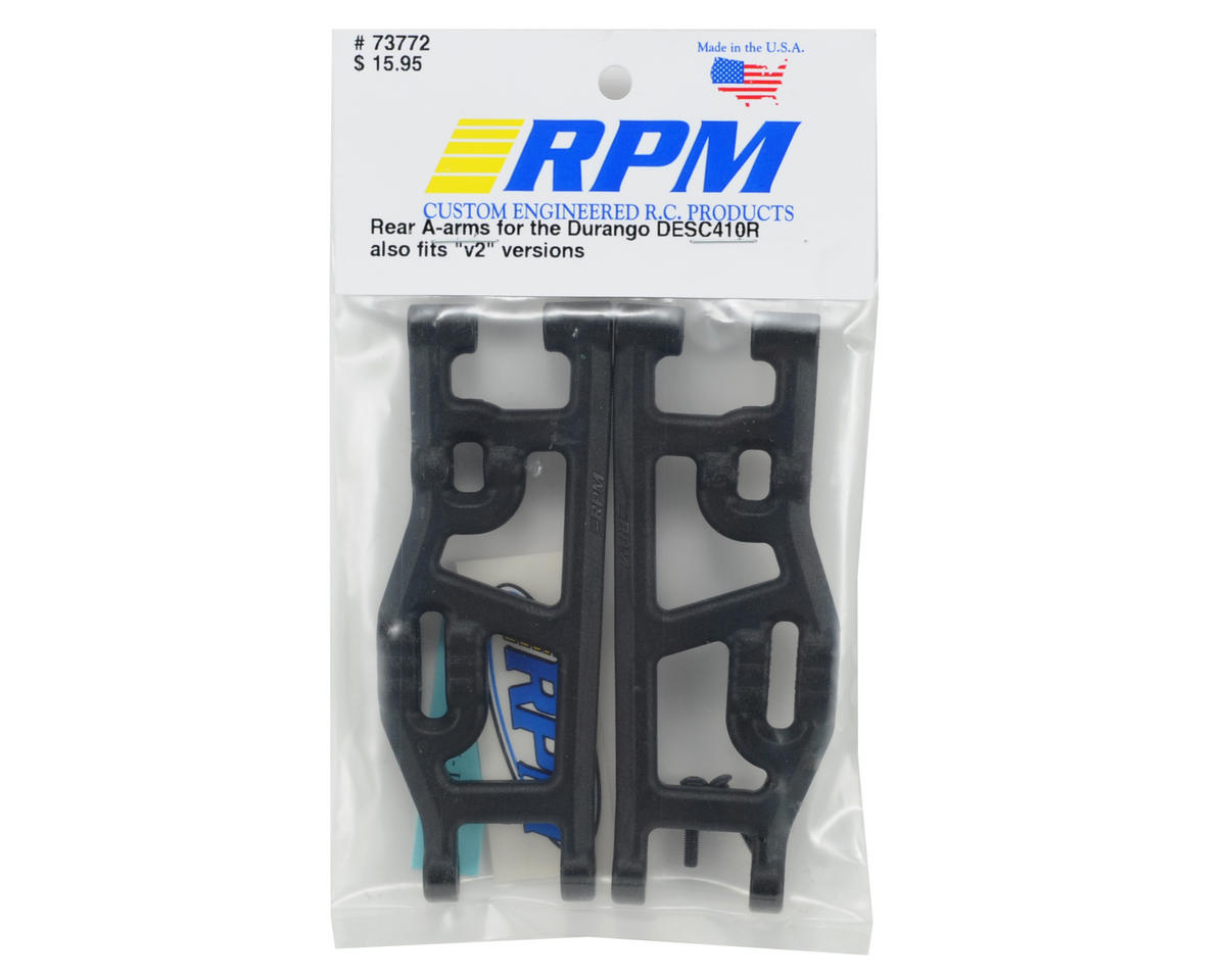RPM Durango DESC410R Rear Arm Set (Black)