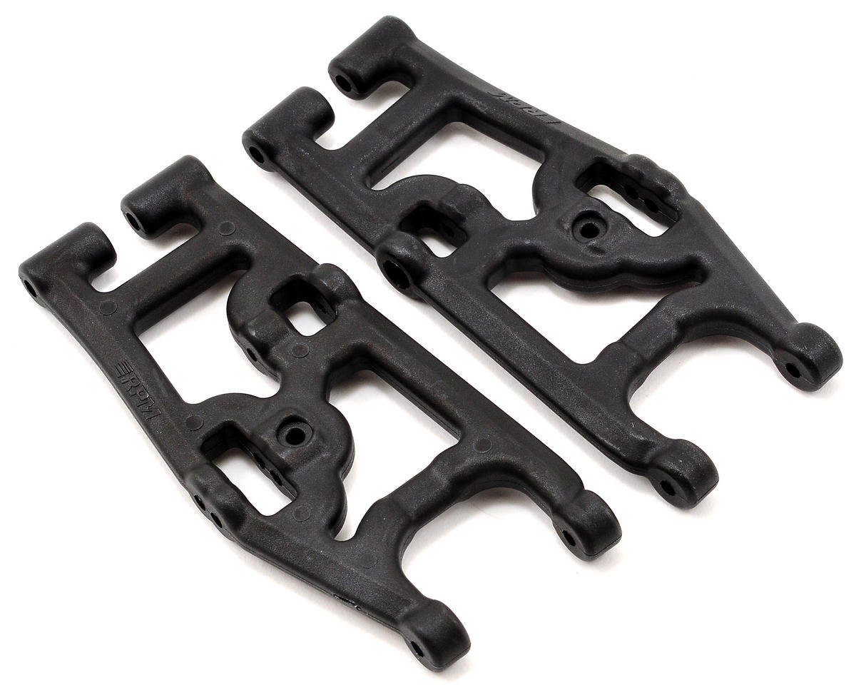 RPM SC10 4x4 Rear Arm Set (Black)