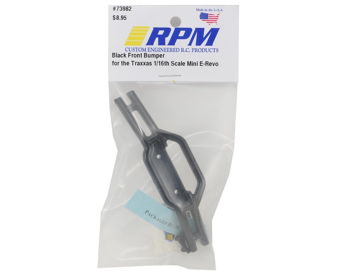 RPM Front Bumper (Black) (1/16 E-Revo)