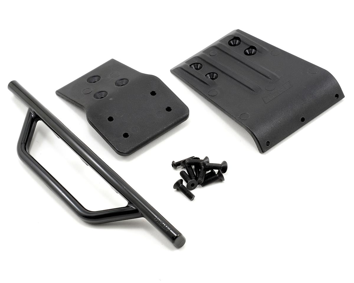 Traxxas Slash 4x4 Front Bumper & Skid Plate (Black) by RPM