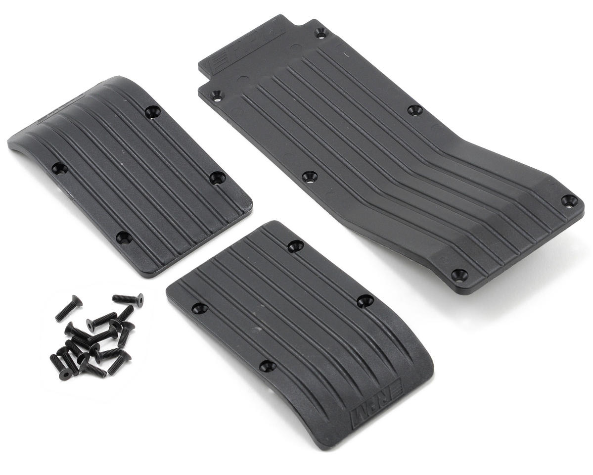 RPM Skid/Wear Plate Set (Black) (3)