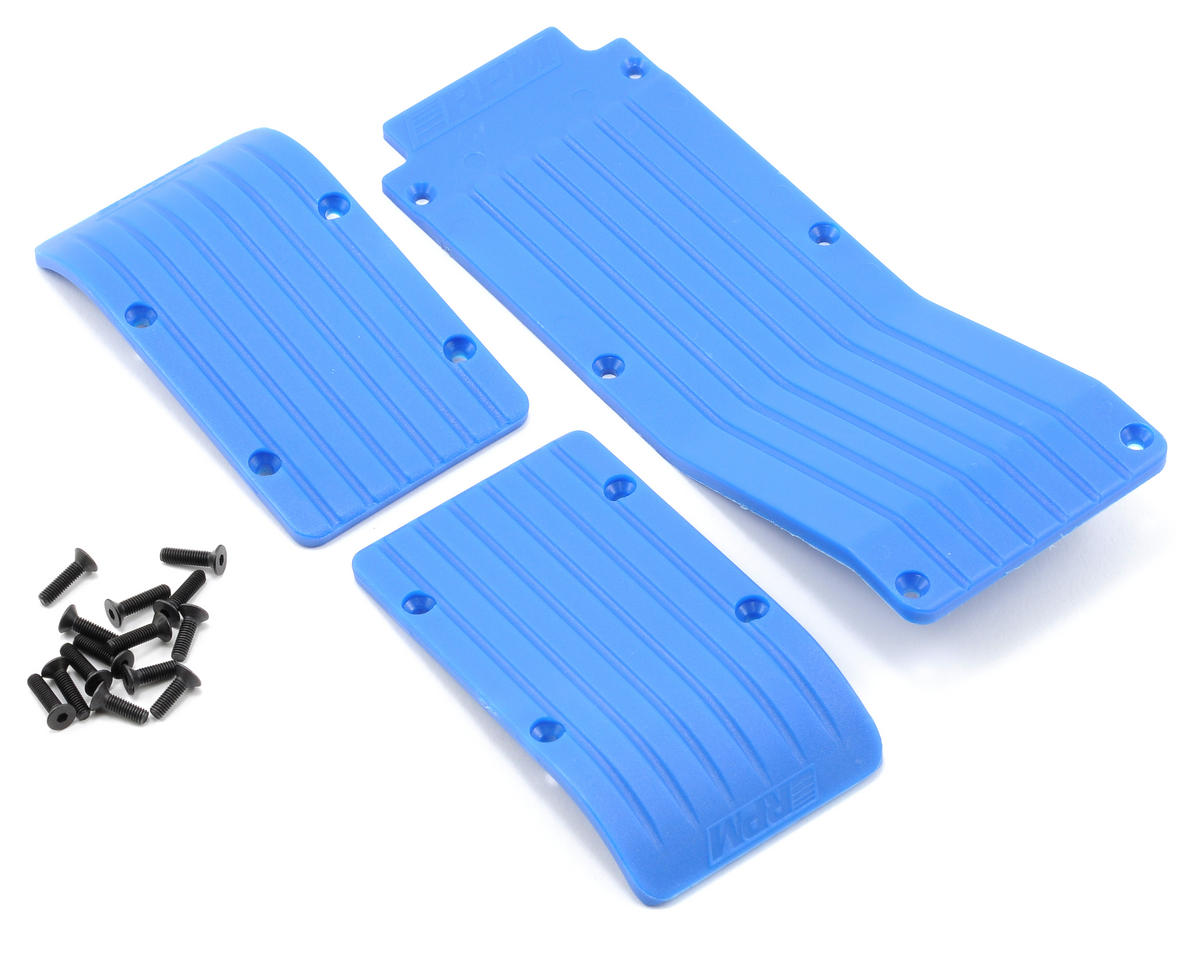 RPM Skid/Wear Plate Set (Blue) (3)