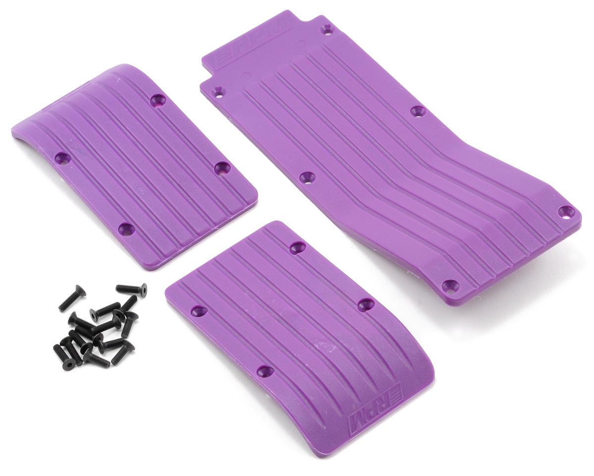 RPM Skid/Wear Plate Set (Purple) (3)