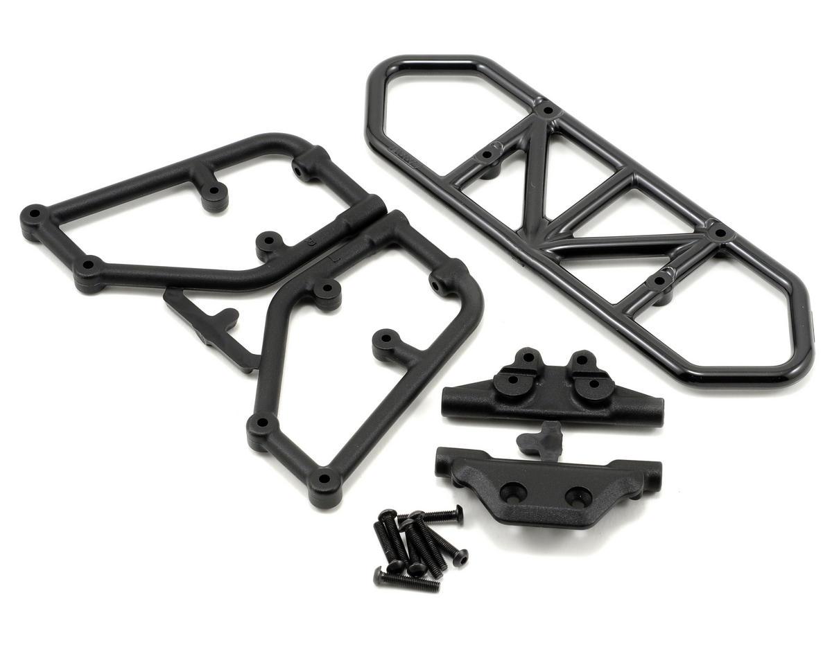 RPM Rear Bumper (Black) (Slash 4x4)