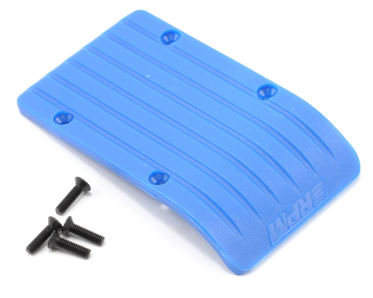 RPM Front & Rear Skid/Wear Plate (Blue)