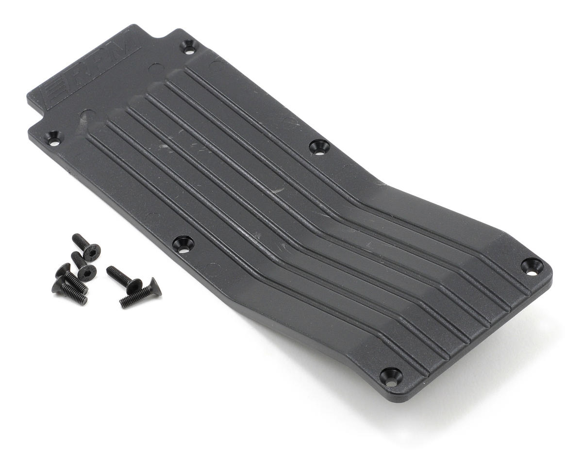 RPM Center Skid/Wear Plate (Black)