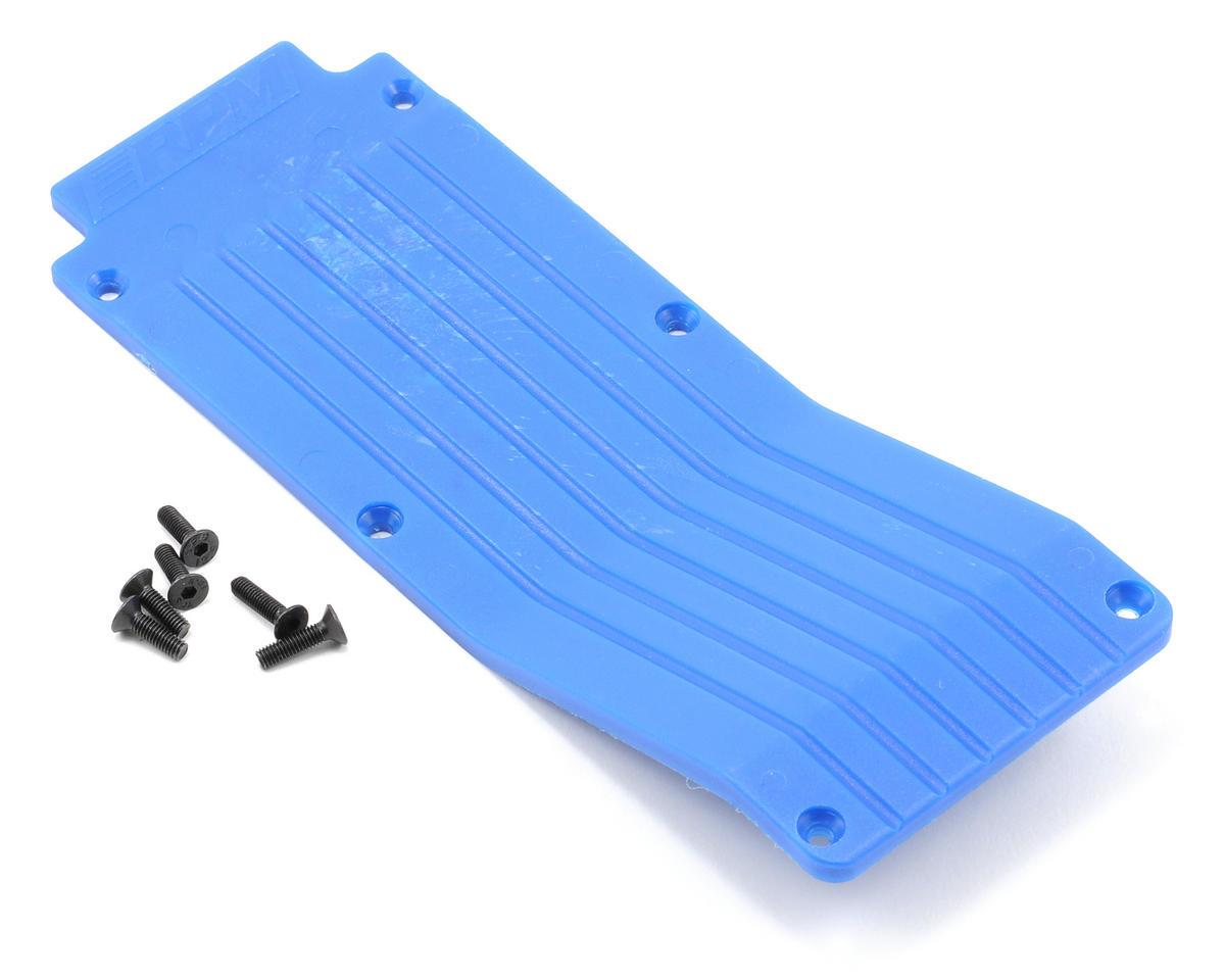 RPM Center Skid/Wear Plate (Blue)