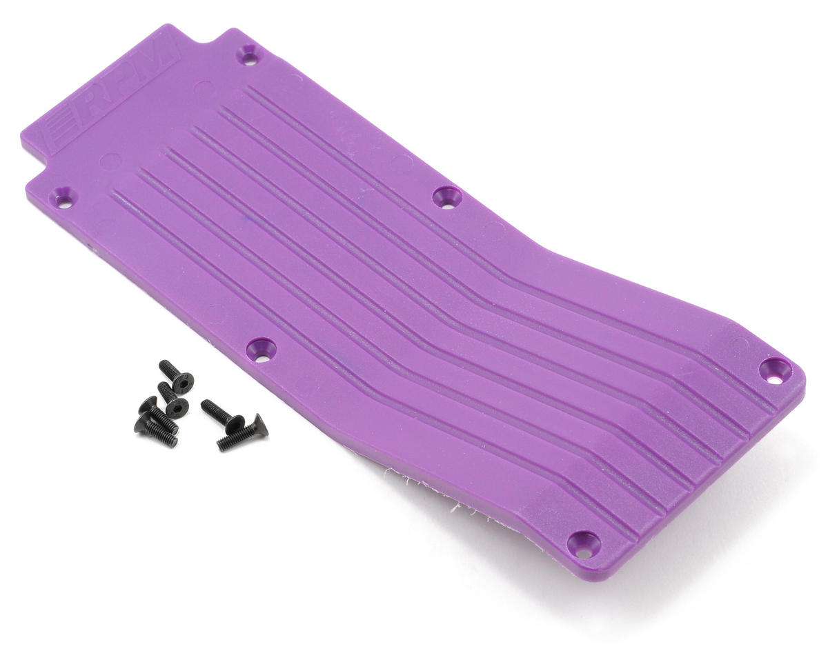 RPM Center Skid/Wear Plate (Purple)