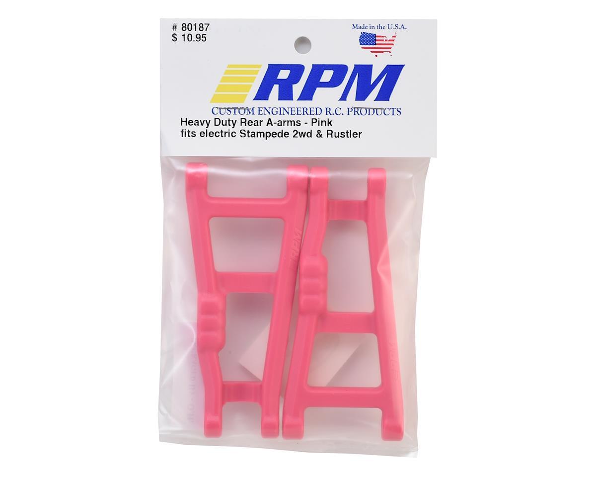 RPM Traxxas Rustler/Stampede Rear A-Arms (Pink) (2)