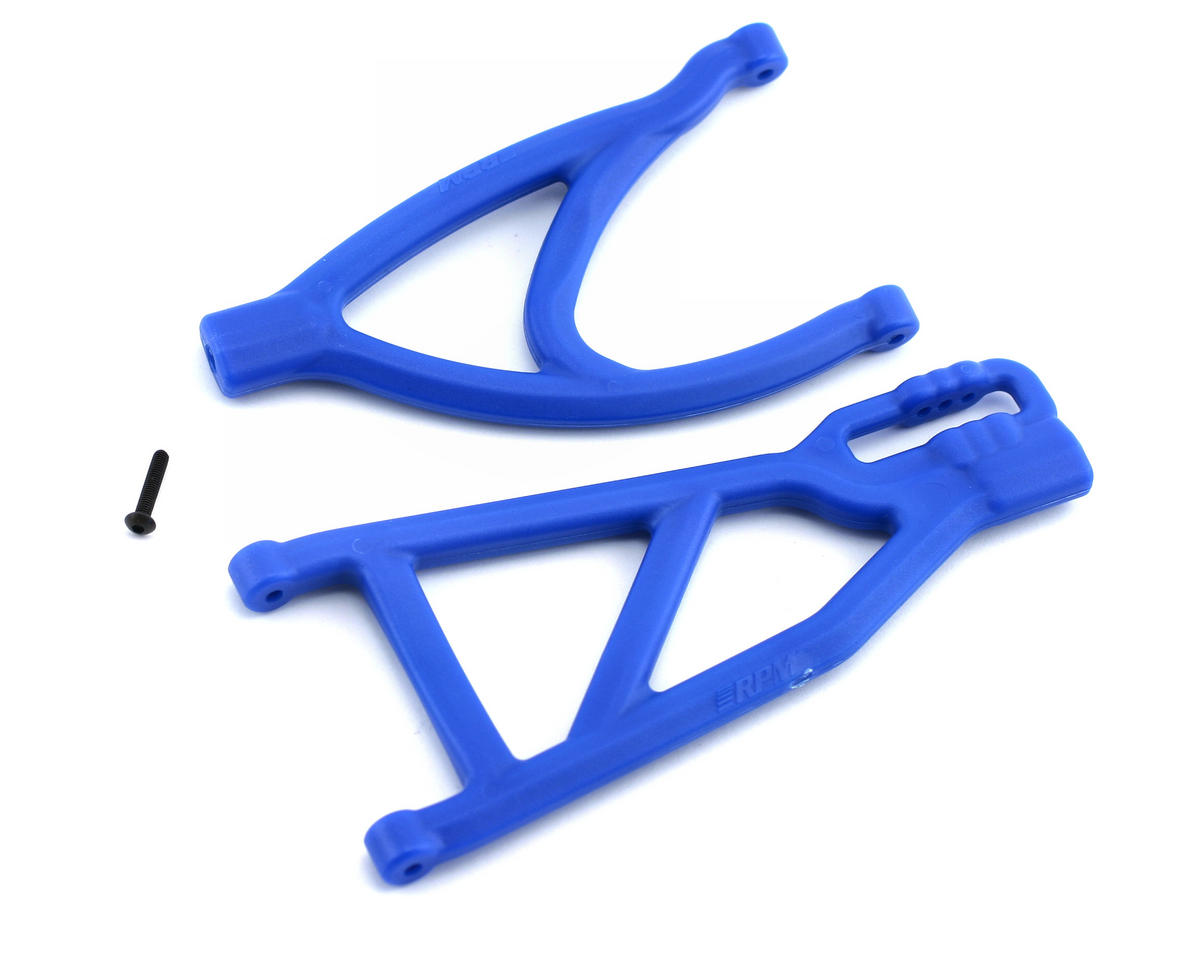 RPM Traxxas Revo/Summit Rear Left/Right A-Arms (Blue)