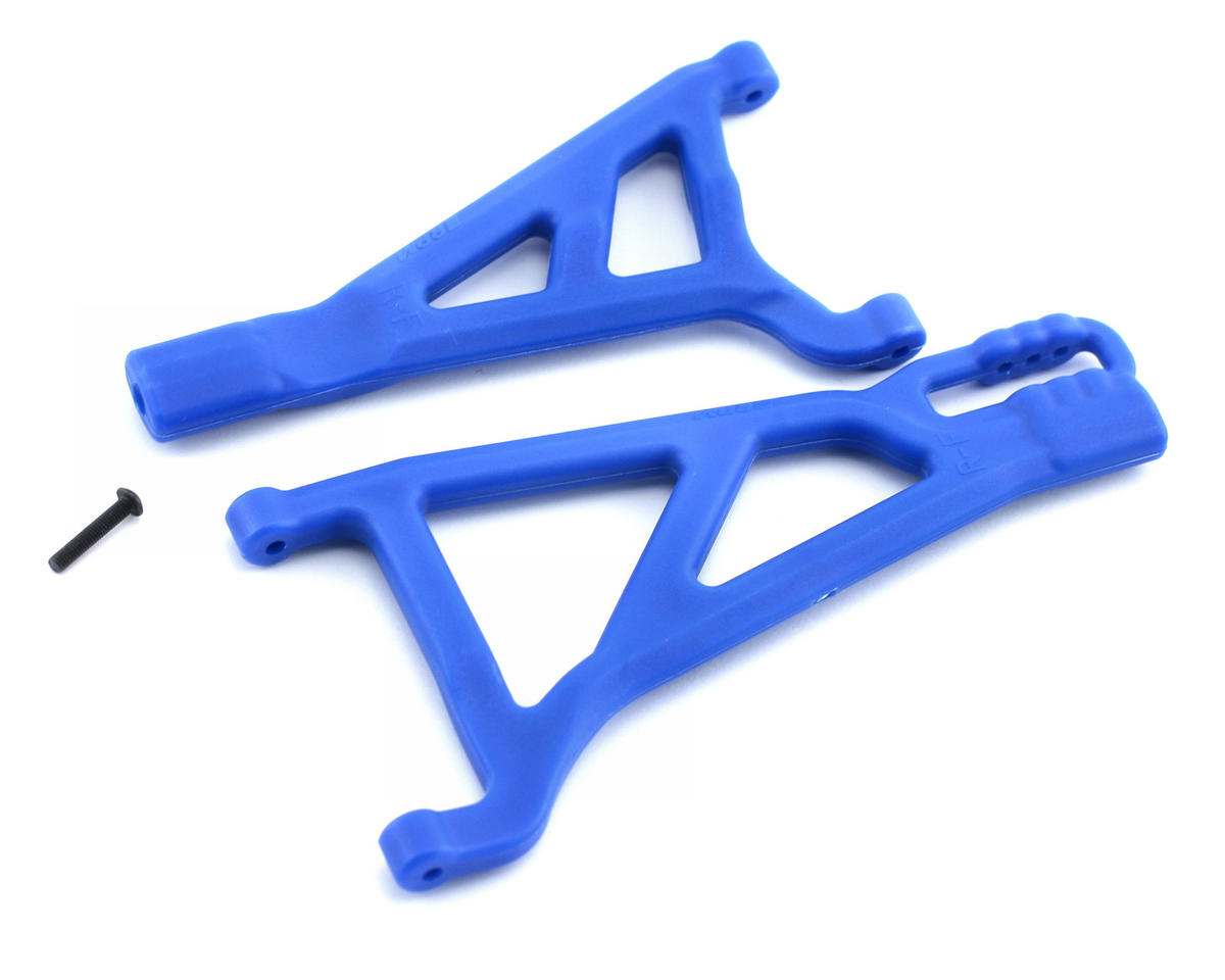 Traxxas Revo/Summit Front Right A-Arms (Blue) by RPM