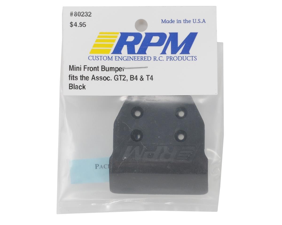 RPM RPM 80232 Mini Front Bumper Black
