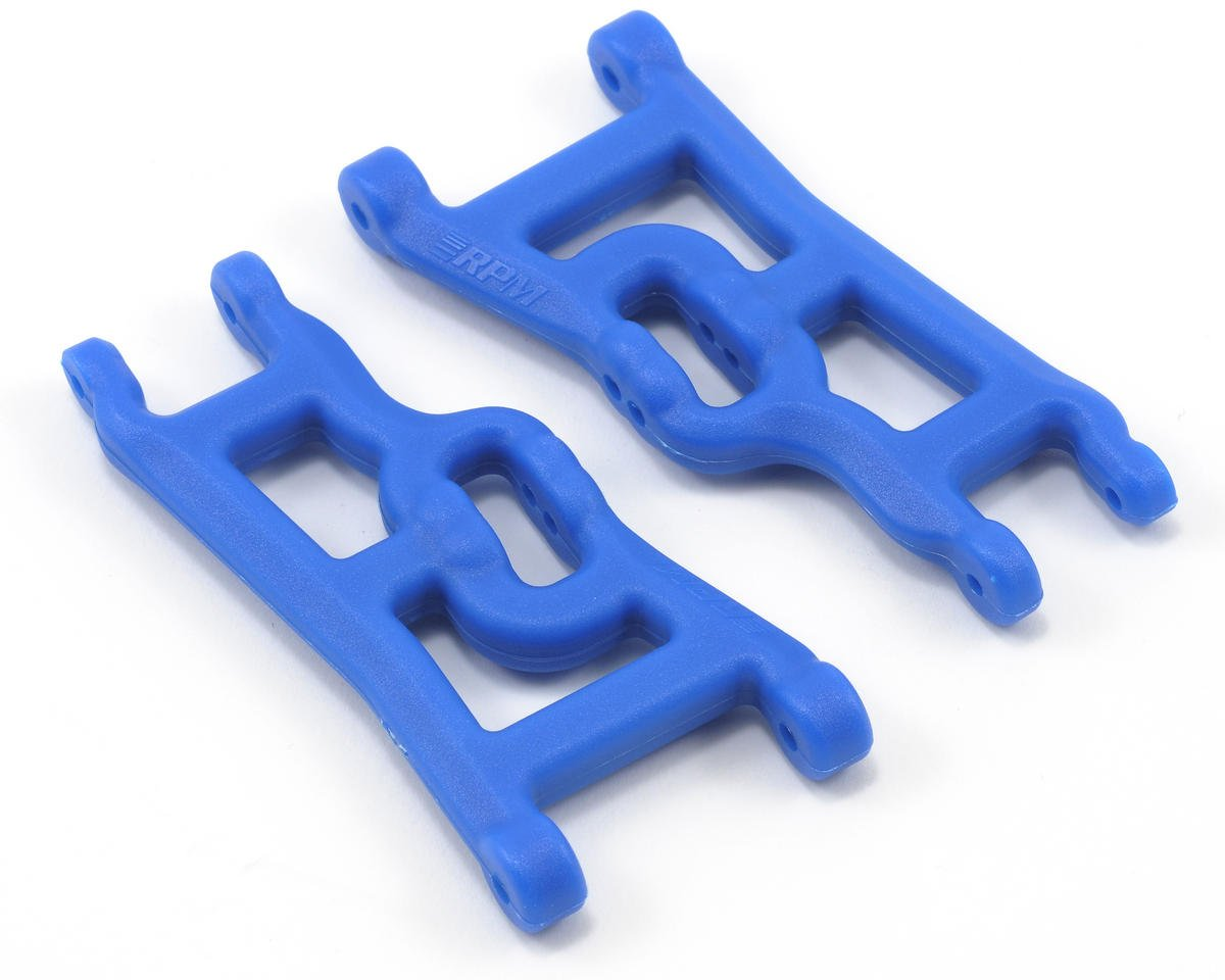 Front A-Arms (Blue) (Rustler,Stampede,Slash) (2)