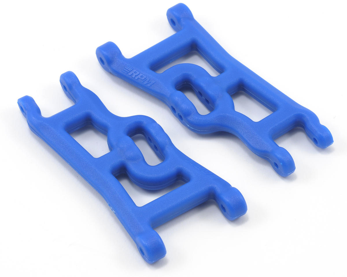 Front A-Arms (Blue) (Rustler, Stampede & Slash) (2) by RPM