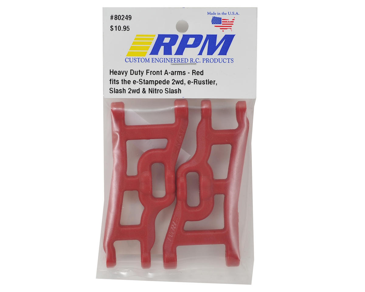 RPM Front A-Arm Set (Red) (Rustler, Stampede & Slash) (2)
