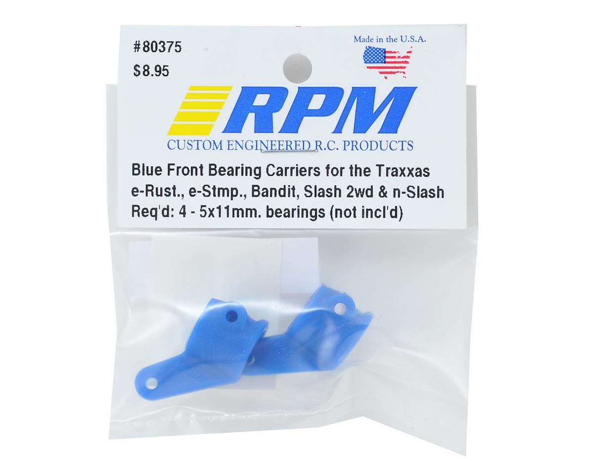 RPM Front Traxxas Steering Blocks (2) (Blue)
