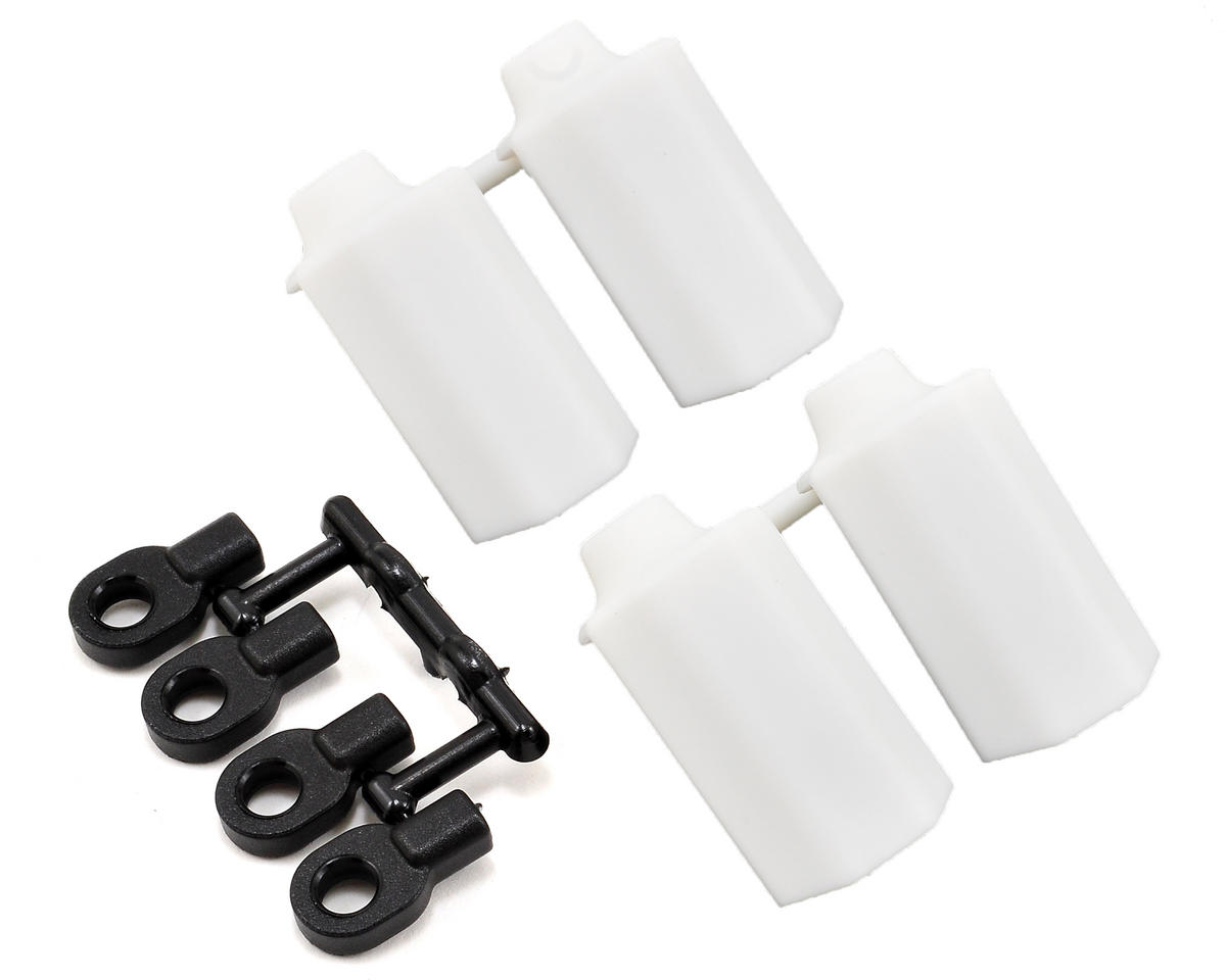 RPM Shock Shaft Guards (White) (4)