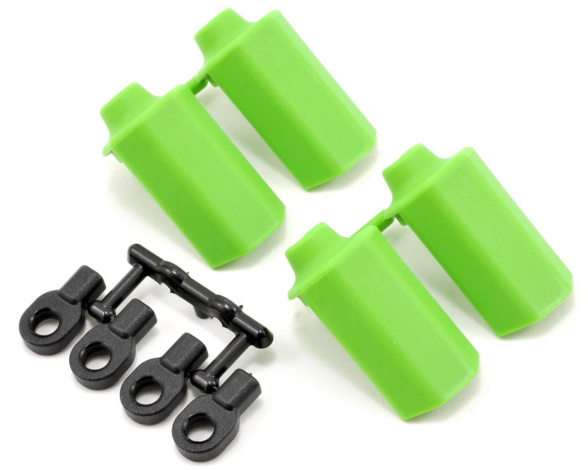 RPM Shock Shaft Guard Set (Green) (4) (Team Durango DESC410R V2)