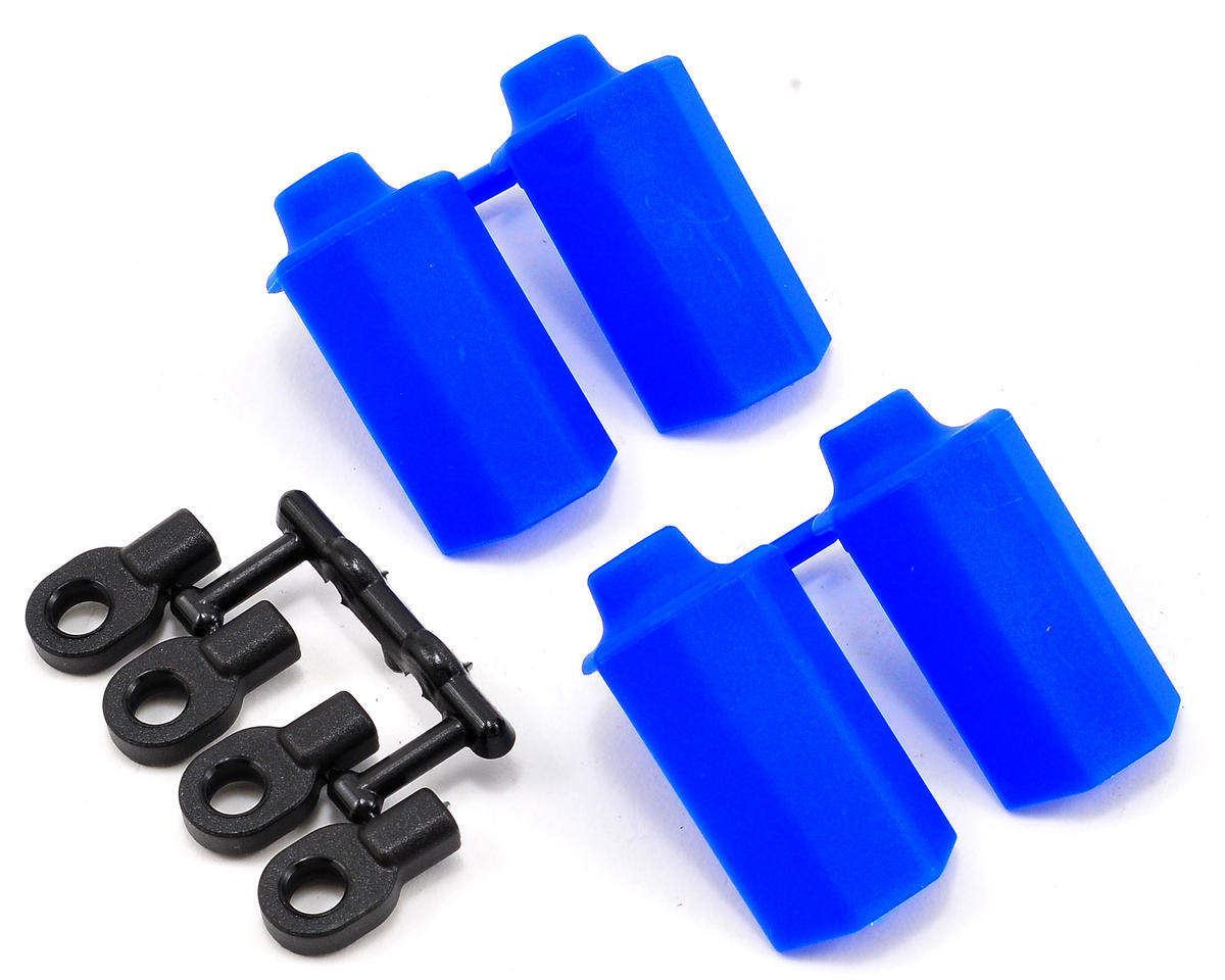 RPM Shock Shaft Guards (Blue) (4) (Traxxas Nitro Sport)