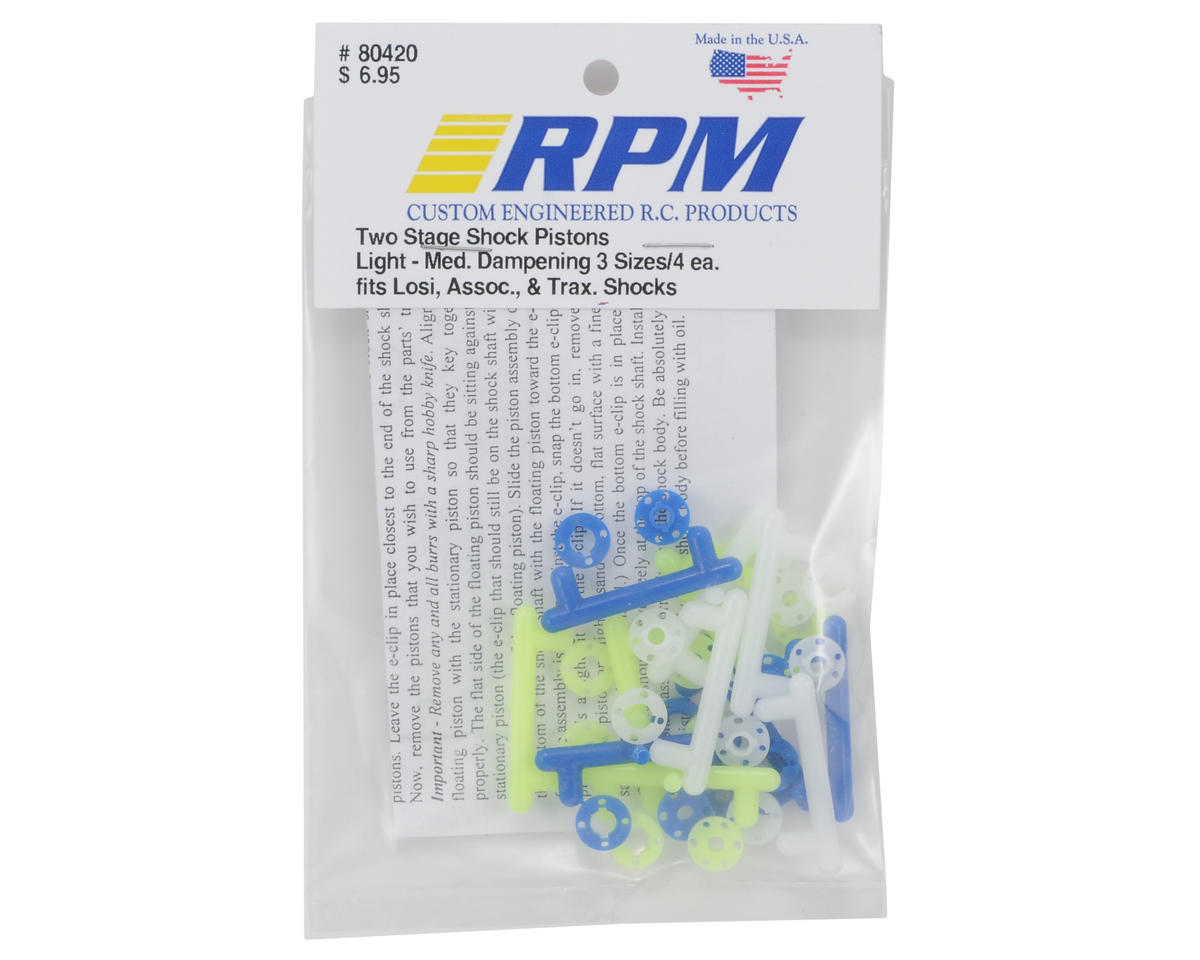 RPM 2-Stage Shock Piston (Light - Medium) (12)