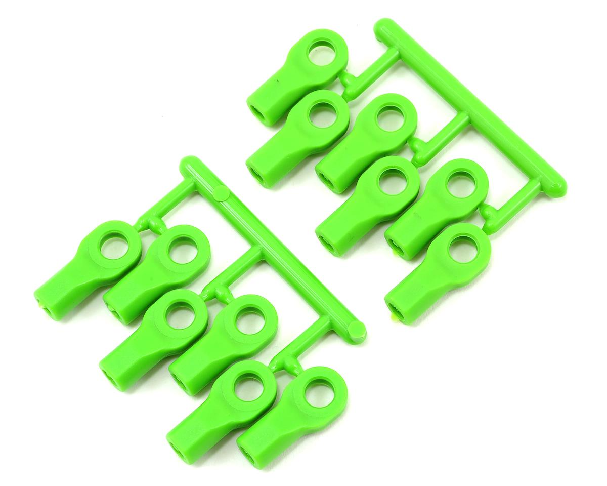 RPM Short Traxxas Nitro 4-Tec Turnbluckle Rod End Set (Green) (12)