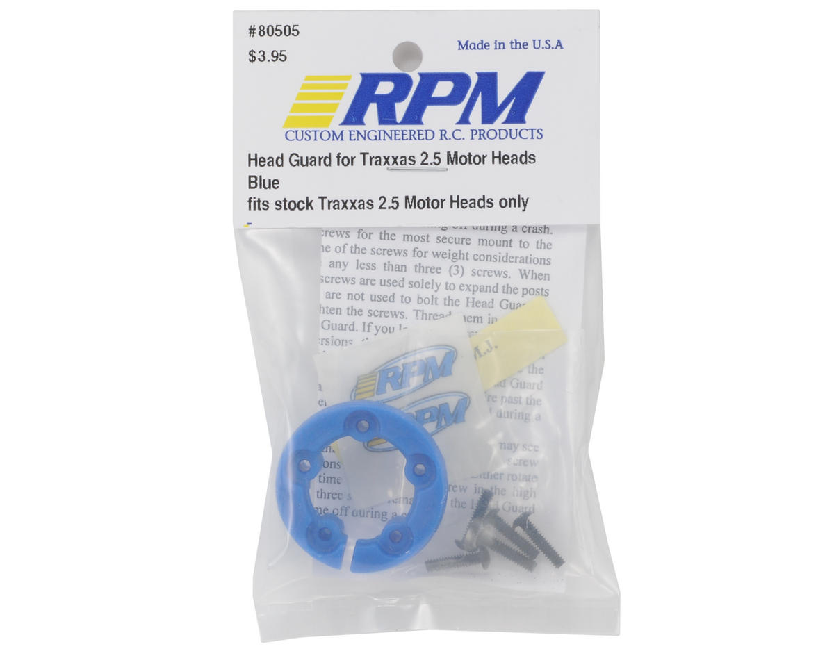 RPM Head Guard Traxxas 2.5 (Blue)