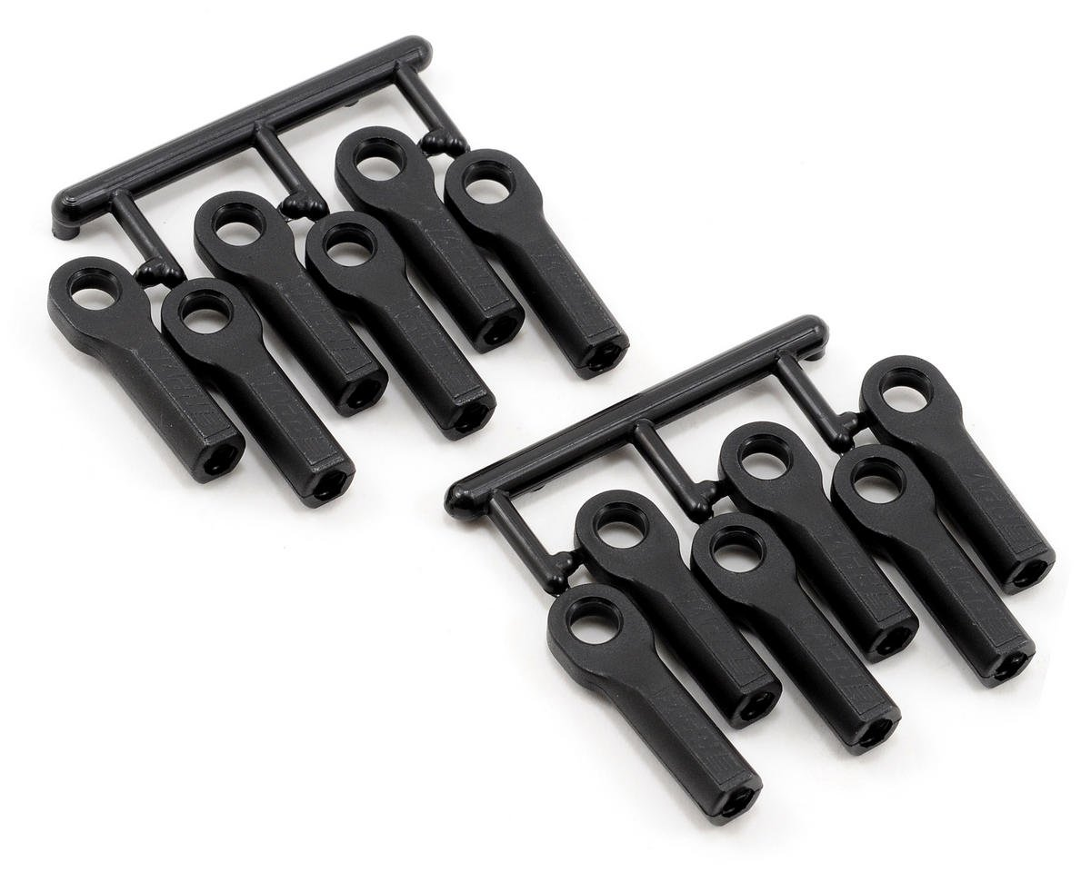 RPM Long Traxxas Slayer Turnbuckle Rod End Set (Black) (12)