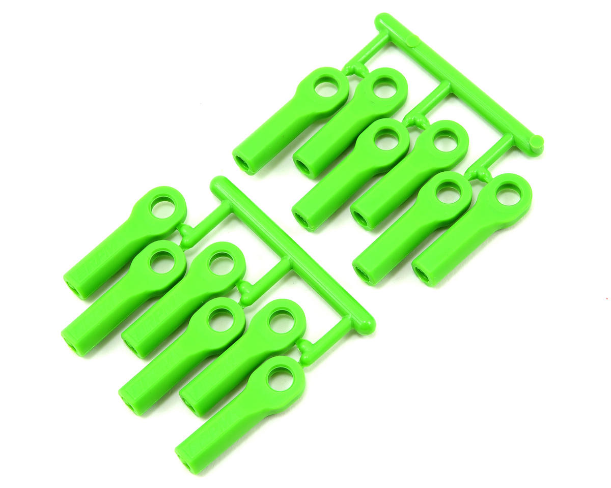 RPM Long Traxxas Nitro Rustler Turnbuckle Rod End Set (Green) (12)
