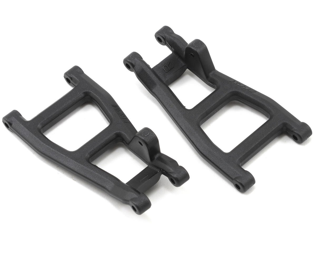 Rear A-Arms (Black) (Nitro Rustler,Stampede,Sport) (2) by RPM