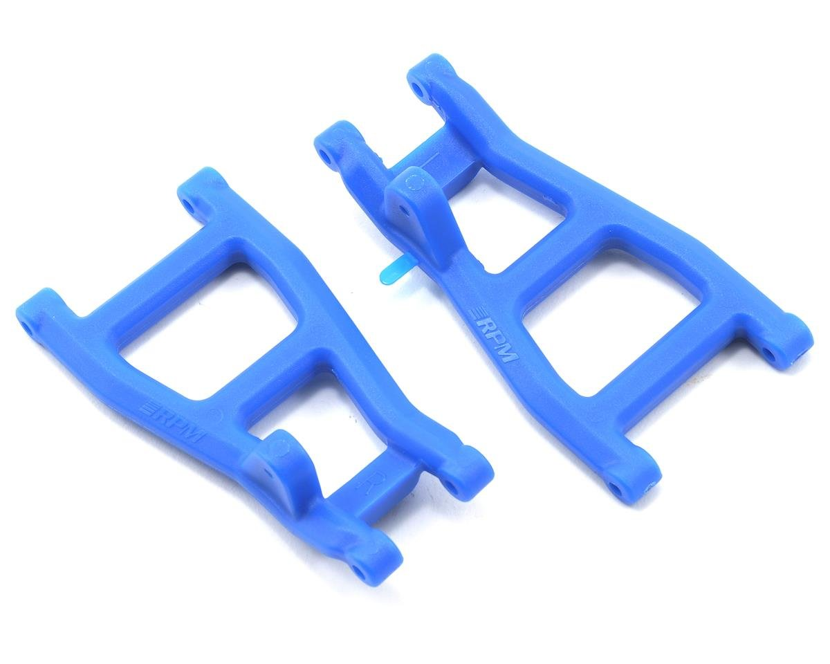 Rear A-Arms (Blue) (Nitro Rustler,Stampede,Sport) by RPM