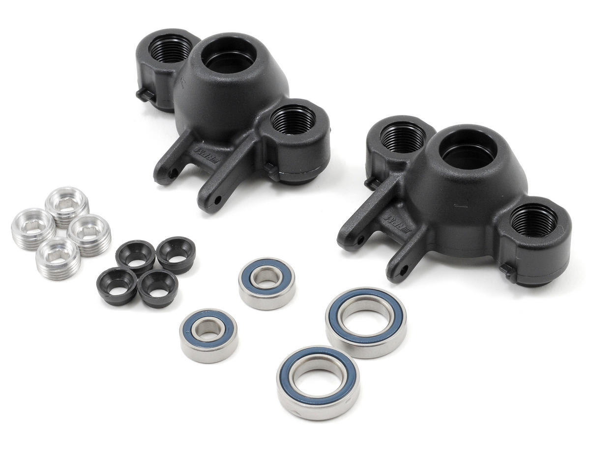 RPM Axle Carriers & Oversized Bearings (Black) (Revo/Slayer) (2) | relatedproducts