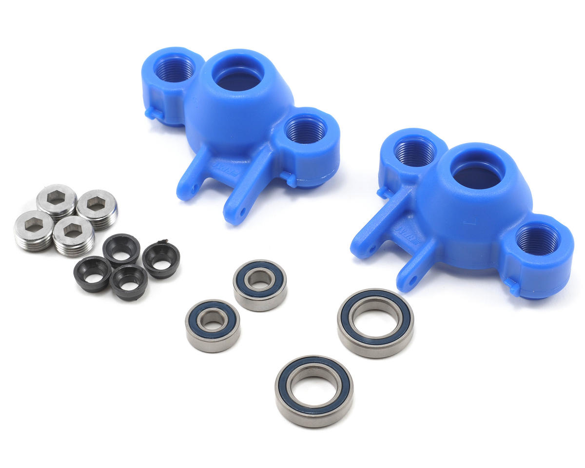 Axle Carriers & Oversized Bearings (Blue) (Revo/Slayer) (2)