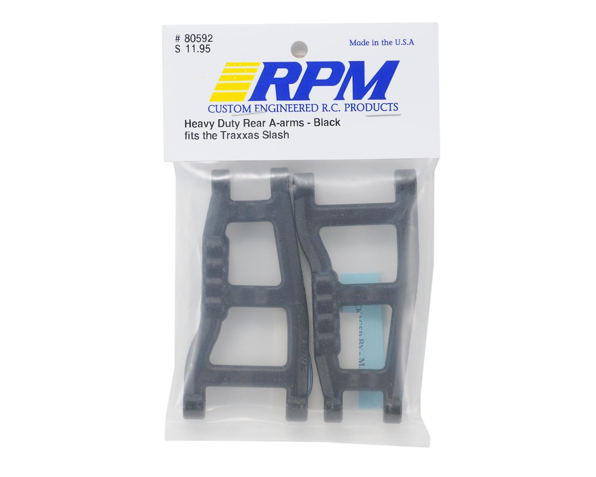 RPM Traxxas Slash Rear A-Arms (Black) (2)