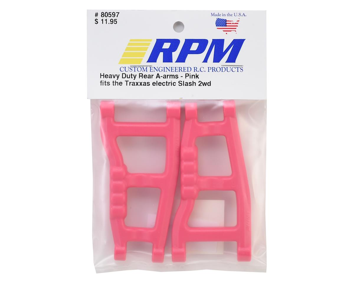 RPM Traxxas Slash Rear A-Arms (Pink) (2)