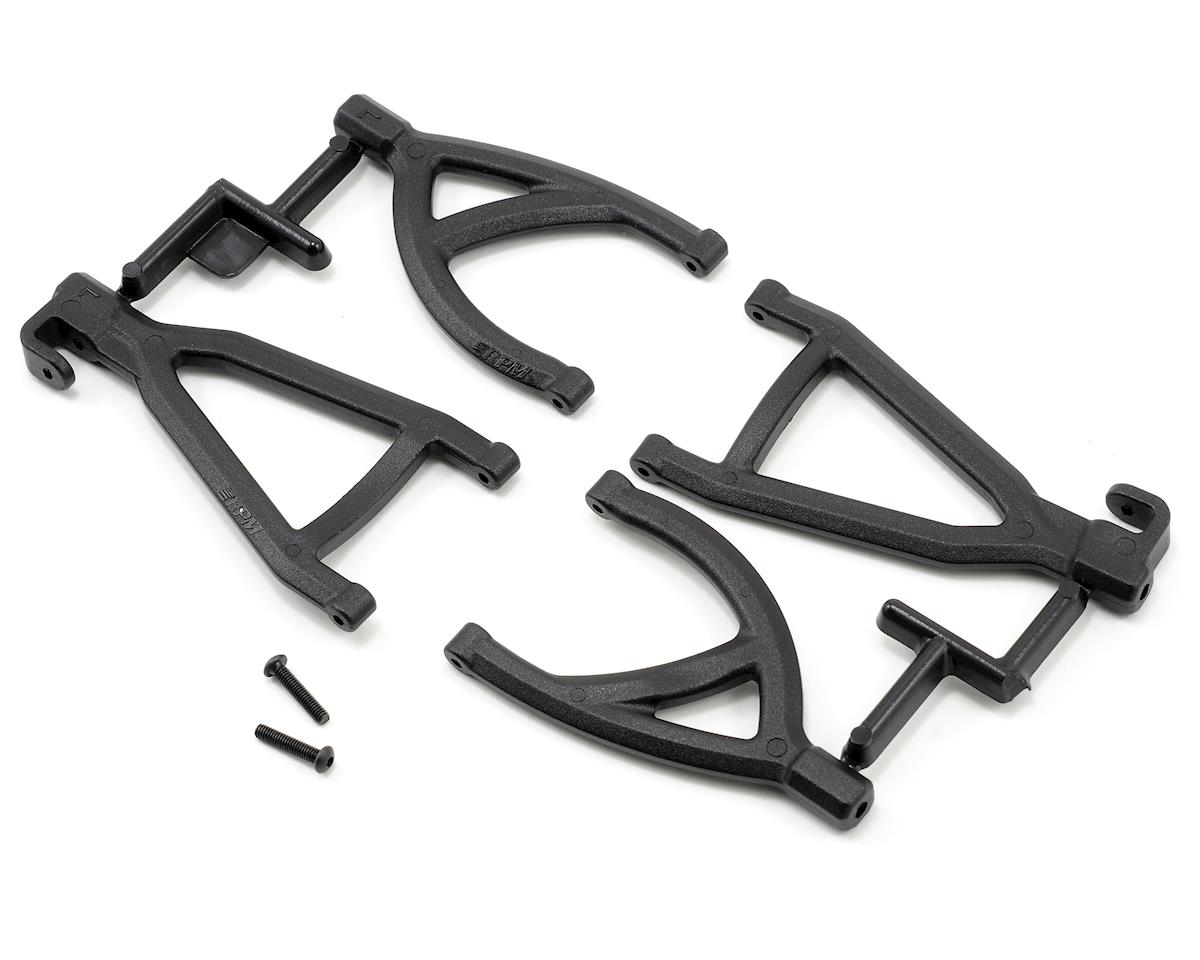 Rear Upper & Lower A-Arms (1/16 E-Revo) (Black) by RPM