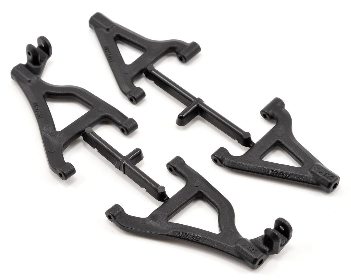 RPM Front A-Arm Set (Black) (2) (Traxxas 1/16 Mustang)