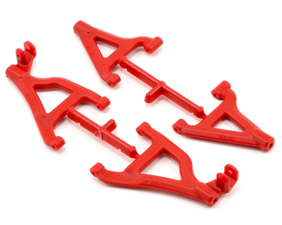RPM Front A-Arm Set (Red) (2) (Traxxas 1/16 Race Truck)