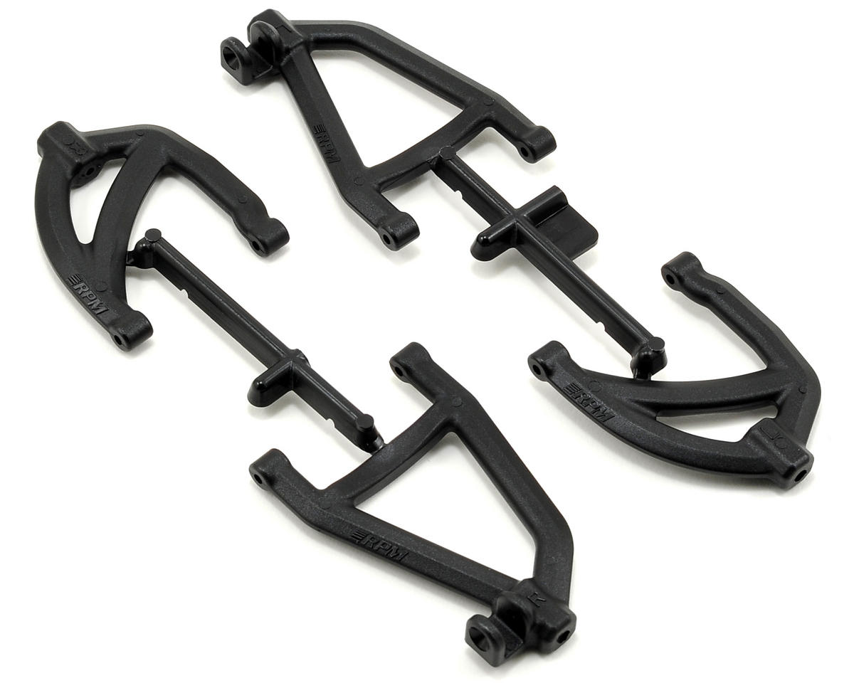 RPM Rear A-Arm Set (Black) (2)