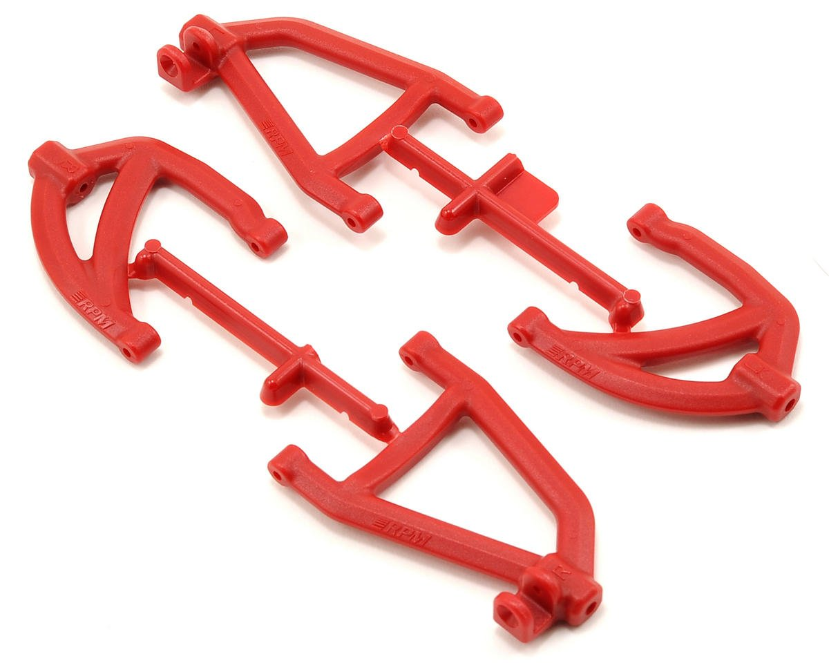 RPM Rear A-Arm Set (Red) (2)