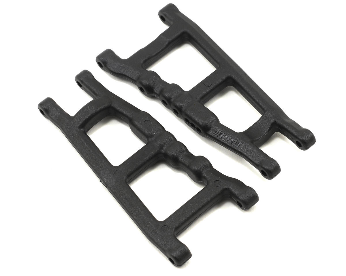 RPM Traxxas Rally Slash 4x4 Front or Rear A-arms (Black)
