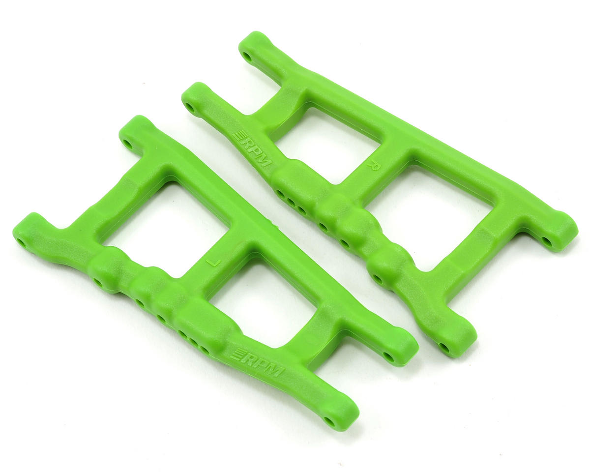 Traxxas 4x4 Front/Rear A-Arm Set (Green) (2) by RPM
