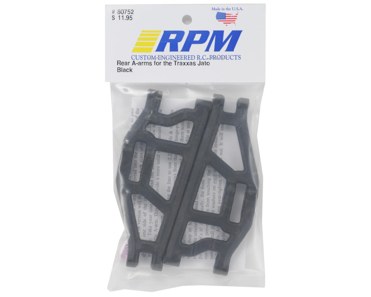 RPM Rear A-Arms (Black) (Jato)