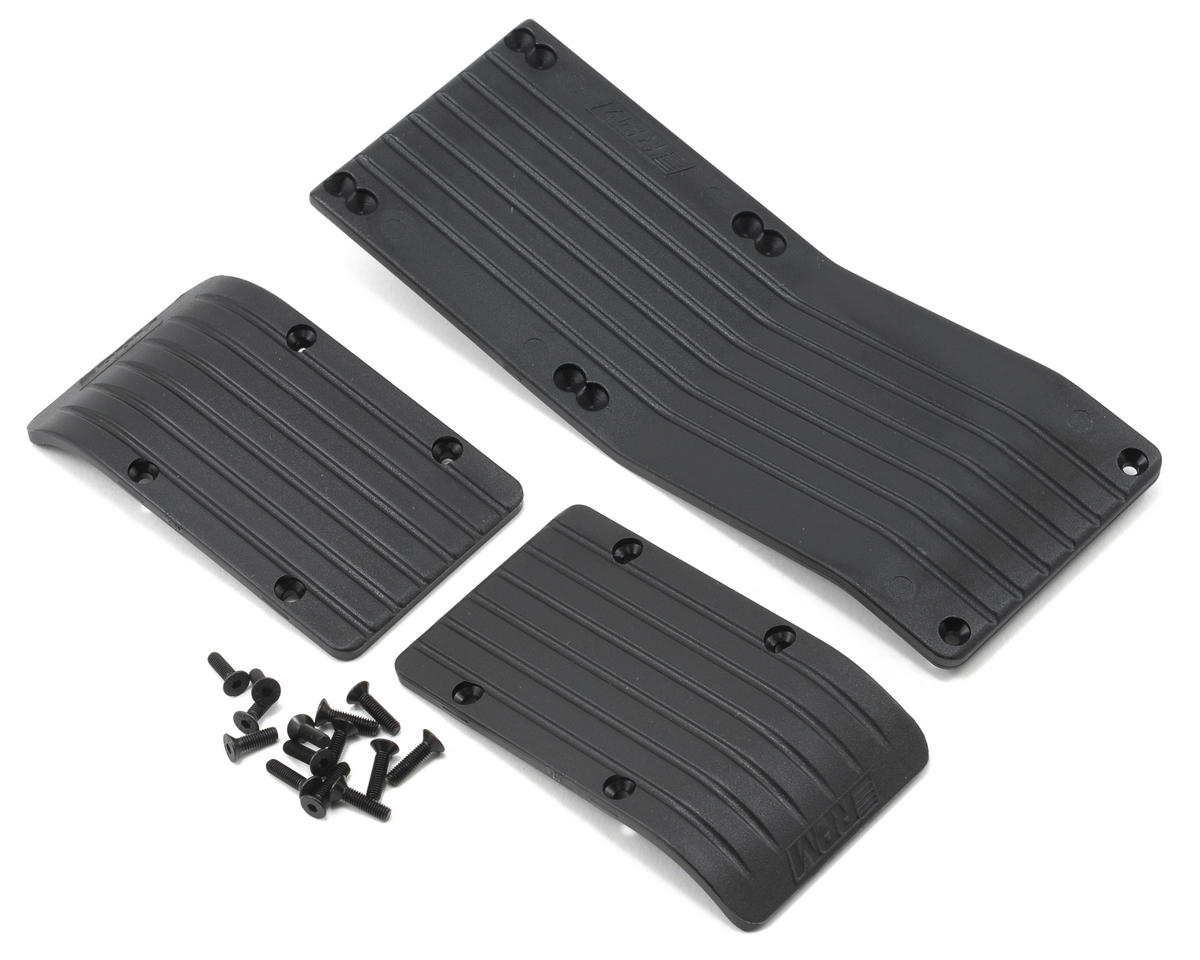 3-Piece Skid Plate (Black) (T-Maxx 3.3 E-Maxx 3905) by RPM