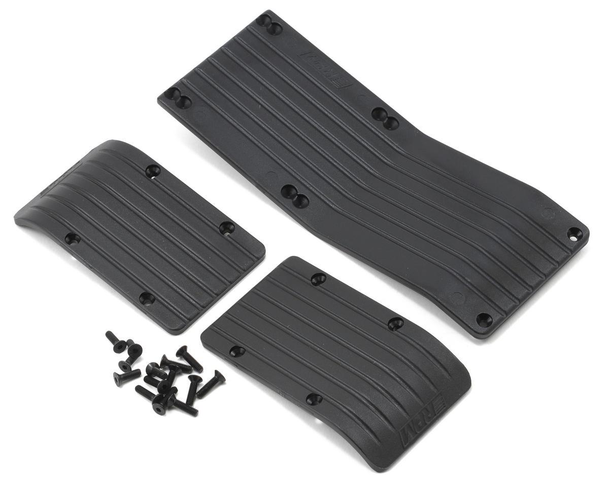 RPM 3-Piece Skid Plate (Black) (T-Maxx 3.3 E-Maxx 3905)