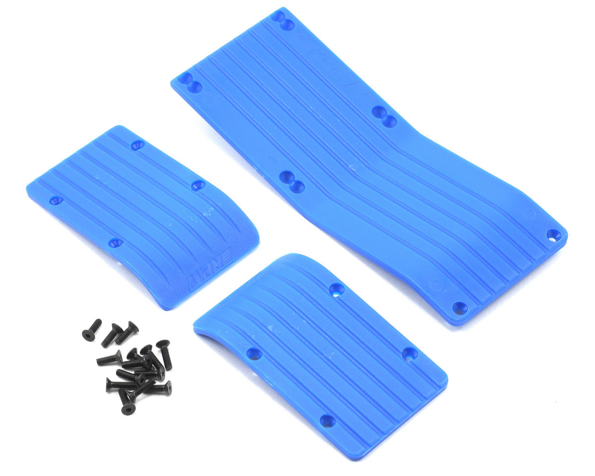 RPM 3-Piece Skid Plate Set (Blue) (T-Maxx #4908 & E-Maxx #3905)