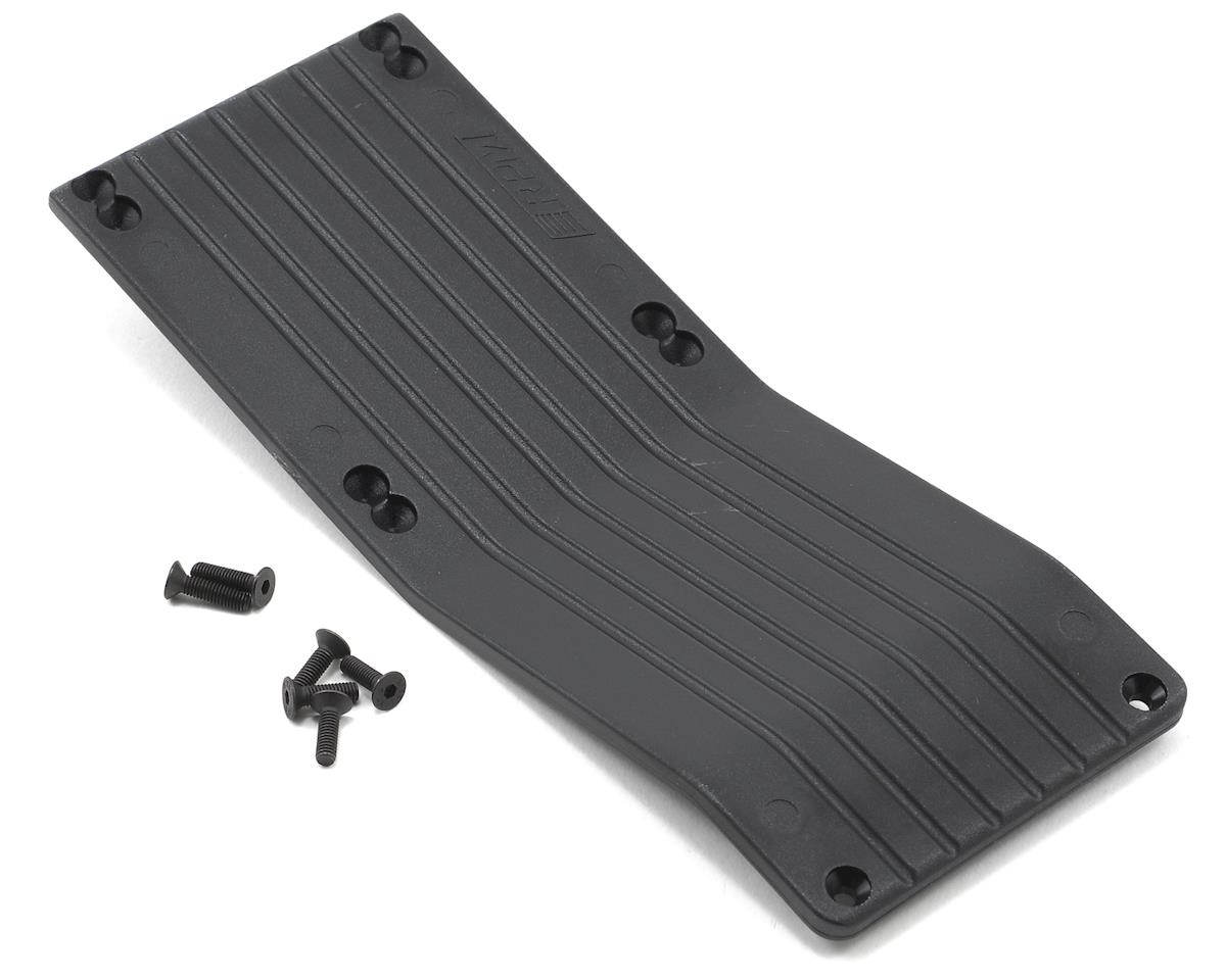 RPM Center Skid Plate (Black) (T-Maxx #4908 & E-Maxx #3905)